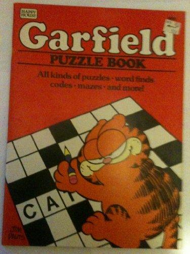 Hh-Garfield Puzzle Bk: Davis, Jim