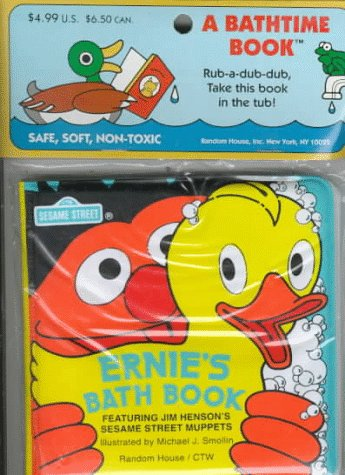 9780394854021: Ernie's Bath Book