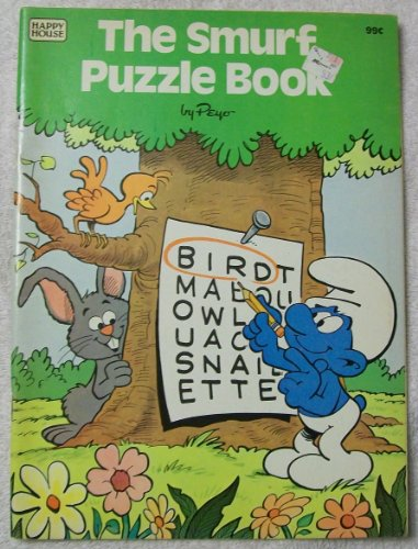 9780394854762: The Smurf Puzzle Book
