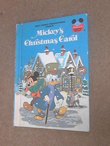 Mickeys Christmas Carol Book.Mickey S Christmas Carol Disney S Wonderful