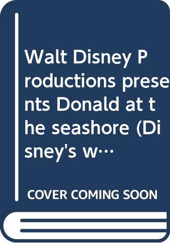 9780394857336: Walt Disney Productions presents Donald at the seashore (Disney's wonderful world of reading)