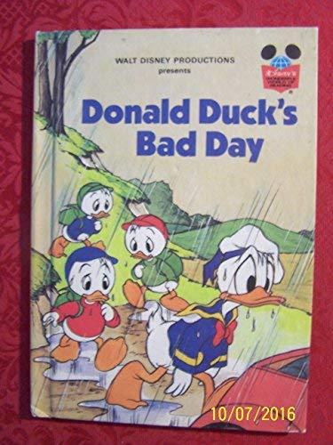 9780394857633: Walt Disney Productions presents Donald Duck's bad day (Disney's wonderful world of reading)