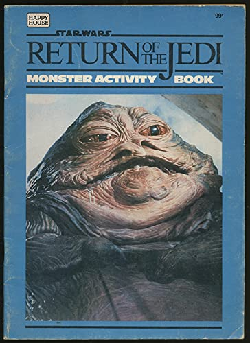 Return of the Jedi Monster Activity Book (0394858964) by James RAZZI
