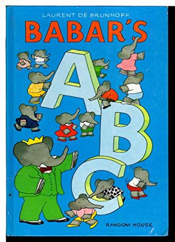 Babar's ABC / A B C: de Brunhoff, Laurent