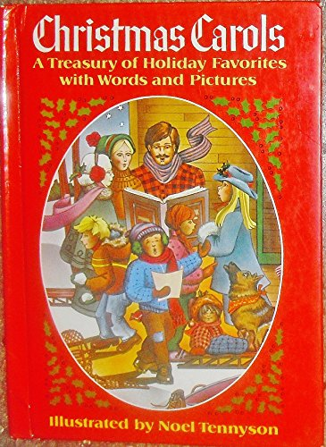 9780394861258: Christmas Carols: A Treasury of Holiday Favorites with Words and Pictures