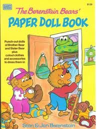 9780394862927: The Berenstain Bears' Paper Doll Book