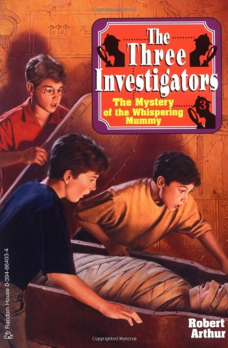 9780394864037: The Mystery of the Whispering Mummy (Three Investigators)