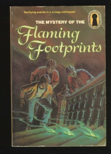 9780394864150: MYSTERY OF THE FLAMING FOOTPRI (The Three Investigators Mystery Series, 15)