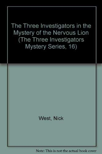 9780394864167: The Three Investigators in the Mystery of the Nervous Lion (The Three Investigators Mystery Series, 16)