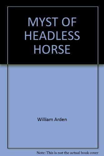 9780394864266: The Mystery of the Headless Horse (Three Investigators)