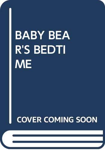 9780394865720: Baby Bear's Bedtime