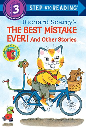 9780394868165: Richard Scarry's The Best Mistake Ever! and Other Stories (Step into Reading)