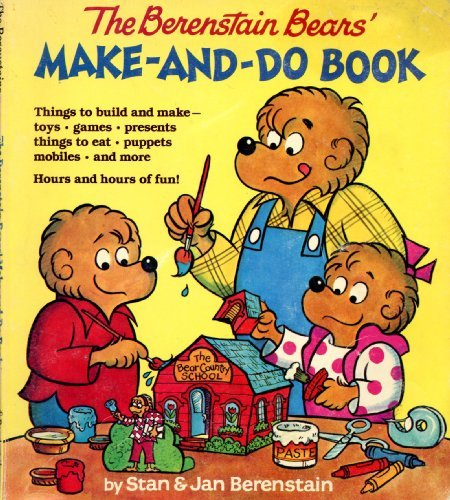 9780394868950: Berenstain Bears' Make-and-Do Book