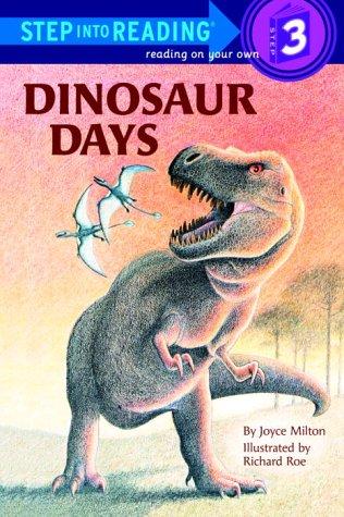 9780394870236: Dinosaur Days (Step into Reading)
