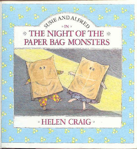 9780394873077: NIGHT PAPER BAG MONSTR (Susie and Alfred)