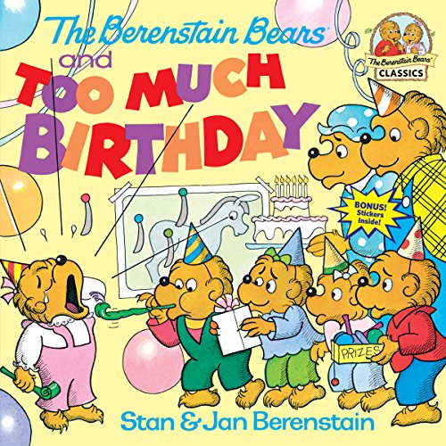 9780394873329: The Berenstain Bears and Too Much Birthday