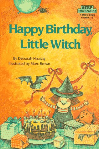 9780394873657: Happy Birthday, Little Witch (Step into Reading)