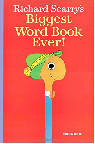 9780394873749: Richard Scarry's Biggest Word Book Ever!