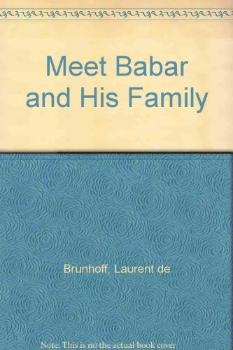 9780394876535: Meet Babar and His Family