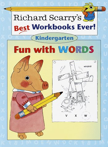 Fun with Words: Kindergarten (Richard Scarry Workbooks): Scarry, Richard