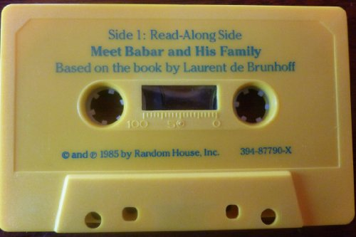 9780394877907: Meet Babar and His Family (Book on Tape)