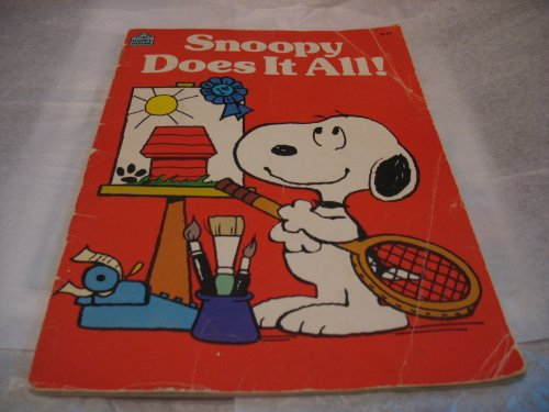 9780394879314: Snoopy Does It All! : Based on the Charles M. Schulz Characters