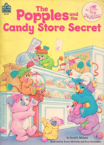 9780394879772: The Popples and the Candy Store Secret