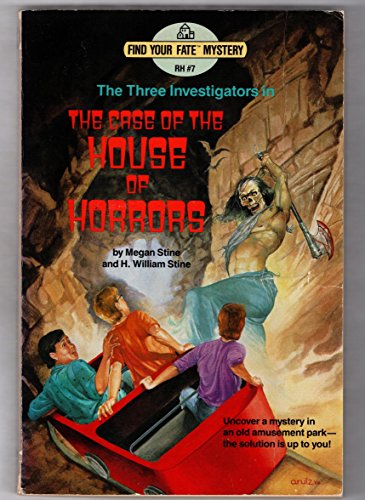 9780394882260: The Three Investigators in the Case of the House of Horrors (Find Your Fate Mystery, No. 7)