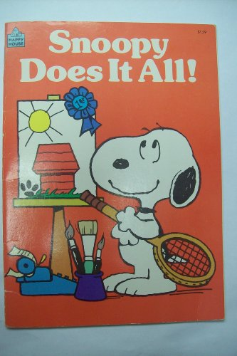 9780394882789: Snoopy Does it All!
