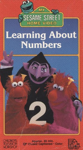 9780394883151: Sesame Street: Learning About Numbers [VHS]