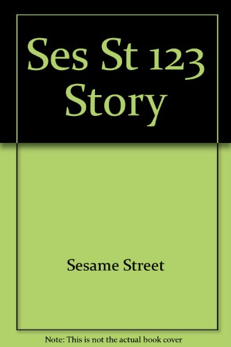Ses St 123 Story (9780394884257) by Sesame Street