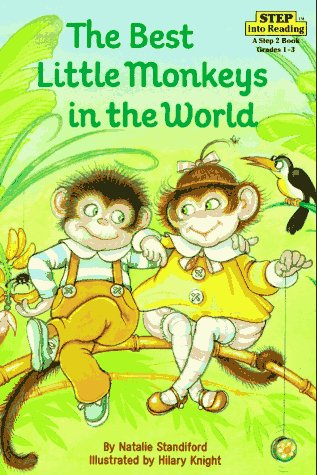 9780394886169: The Best Little Monkeys in the World (Step into Reading)