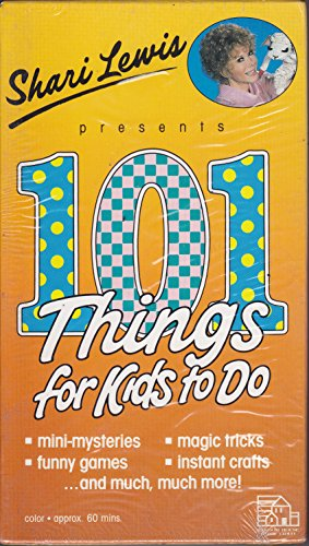 9780394889054: Sherri Lewis Presents 101 Things For Kids To Do [VHS]
