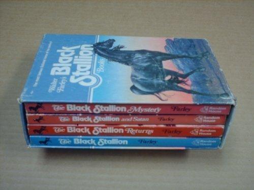 Walter Farley's Black Stallion Books 4-Volume boxes Set: The Black Stallion, The Black Stallion...