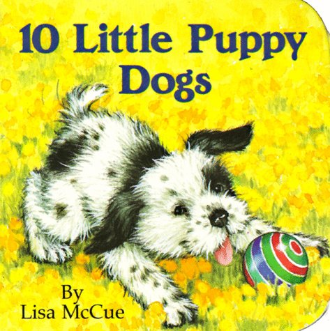 9780394891491: 10 Little Puppy Dogs (Chunky Book)