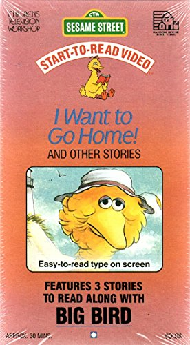 9780394892450: I Want to Go Home and Other Stories (Sesame Street Start To Read Video) [VHS]