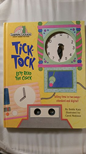 9780394893990: Tick Tock Let's Read The Clock (Learning Ladders)
