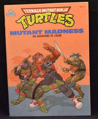 9780394894843: MUTANT MADNESS (Teenage Mutant Ninja Turtles Coloring Book)