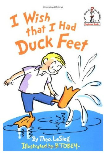 9780394897776: I Wish That I Had Duck Feet (Beginner Library/Audio Cassette and Book)
