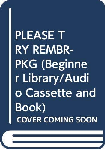 9780394897790: PLEASE TRY REMBR-PKG (Beginner Library/Audio Cassette and Book)
