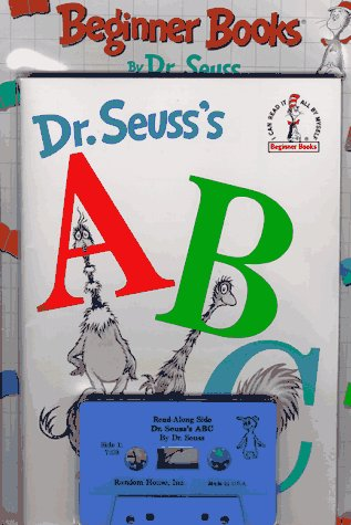 9780394897844: Dr. Seuss's ABC (Beginner Library/Audio Cassette and Book)