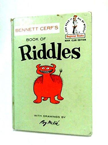 9780394900155: Bennett Cerf's Book of Animal Riddles (Beginner Books)