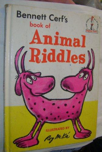 9780394900346: Bennett Cerf's Book of Animal Riddles