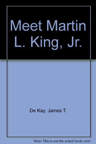 9780394900551: Meet Martin L. King, Jr.