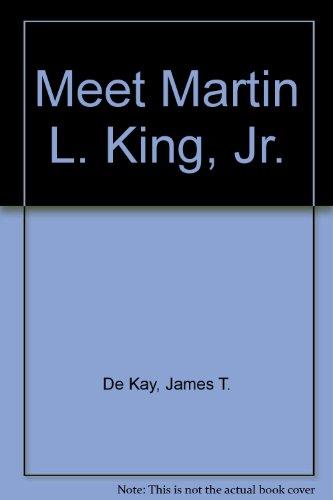 9780394900551: MEET MARTIN L KING JR