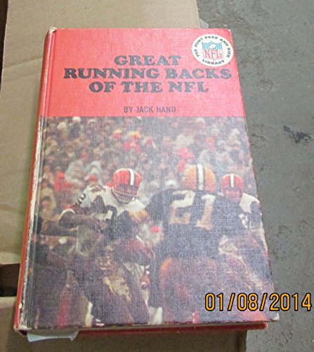 9780394901954: Great running backs of the NFL, (The Punt, pass, and kick library)