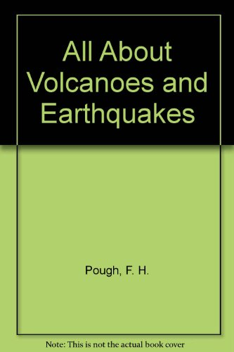 9780394902043: All About Volcanoes and Earthquakes