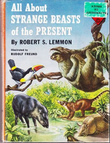 9780394902197: All About Strange Beasts of the Present