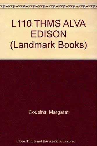 L110 THMS ALVA EDISON (Landmark Books): Margaret Cousins