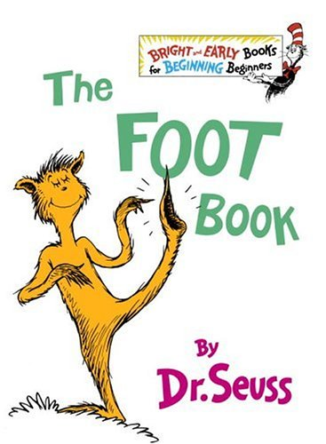 9780394909370: The Foot Book (Bright & Early Books(R))